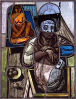 """David Gillan - """"Stained Glass Panel"""""""
