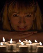 Portrait by candle light